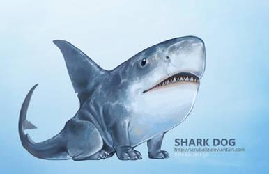 Shark Dog by TheK40