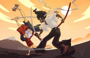 Afro Samurai VS Mugen by TheK40