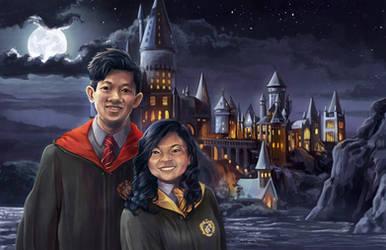 Harry Potter Portrait by TheK40