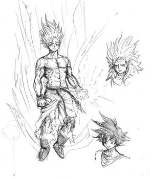 goku sketch