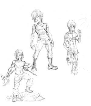 chars sketchs