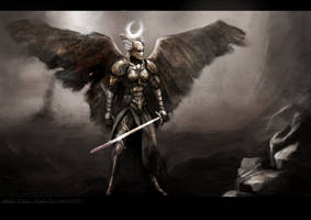 angelic survivor by DProject-DMan