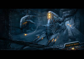 Hostile Worlds Loading Screen by DProject-DMan