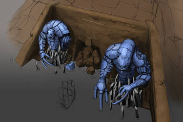 Khuultan Caverns Of Akubyr by DProject-DMan