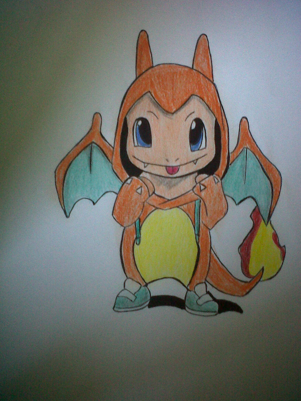 How to draw charmander by shinee13X on DeviantArt