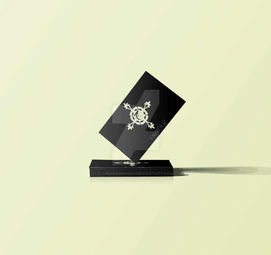 Fayrouz - Business card cut out by Limaradragon