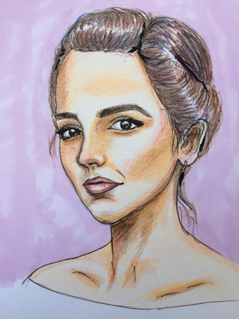 Girl by paulinanata