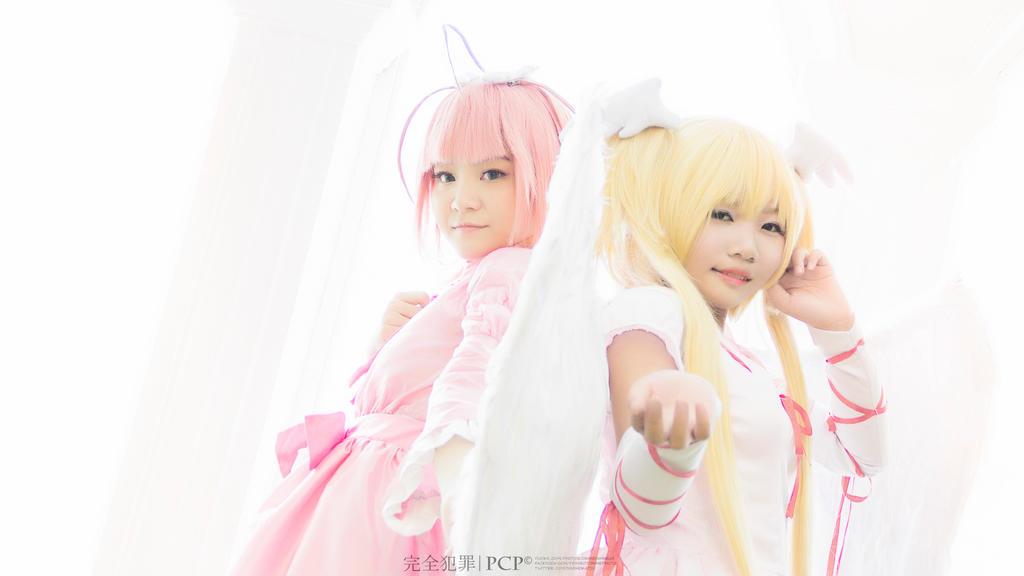 Amulet Angel and Seraphic Charm by NekoShiro23