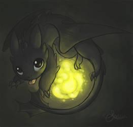 HTTYD- Toothless by Sunofureku