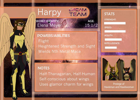 Elena:Harpy Dream Team App