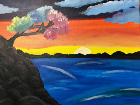Painting with a Twist: Rainbow Tree