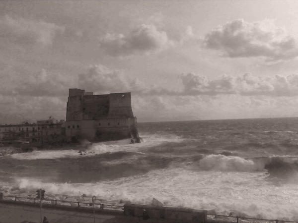 Naples - Castel Dell'Ovo by cleo72