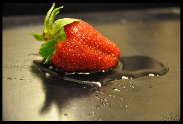 A Strawberry by cleo72