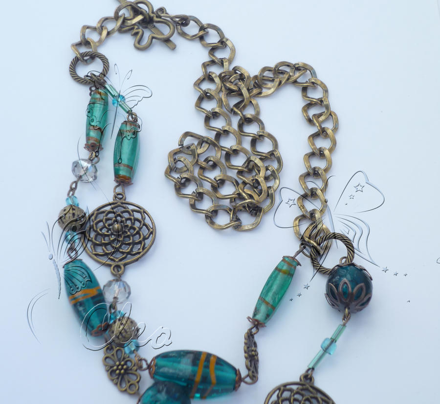 Bronze Necklace by cleo72