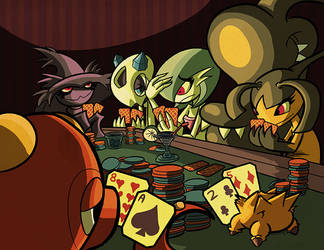 Pokermon by CousinTed