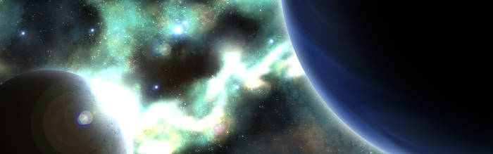 Nebula and Gas Giant