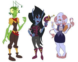 Space ladies