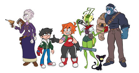 Beyond the Gate - Character Designs