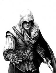 Ezio Auditore da Firenze by Bise1986