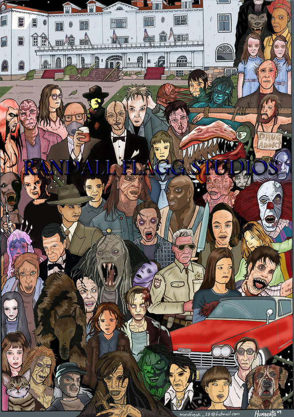 Stephen King Collection by Flagg1 on DeviantArt