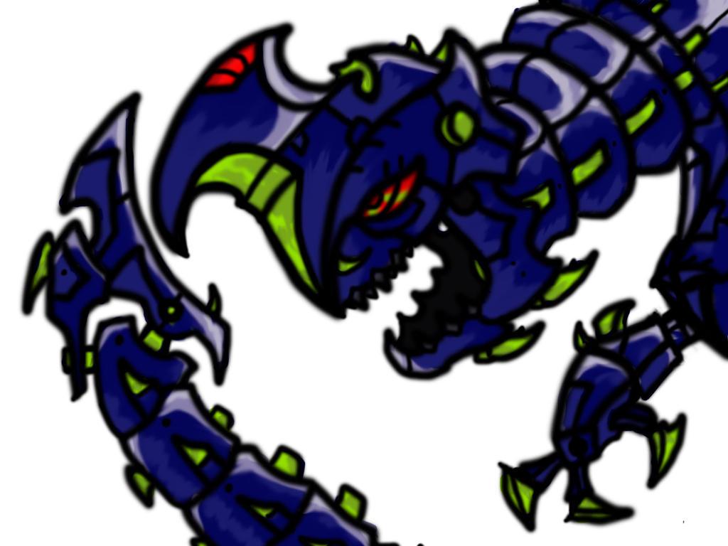 Robo dragon thing by oozy5000