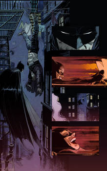 My colours over Lee Weeks Batman