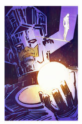 My colours over Wes St.Claire Galactus by Roman-Stevens