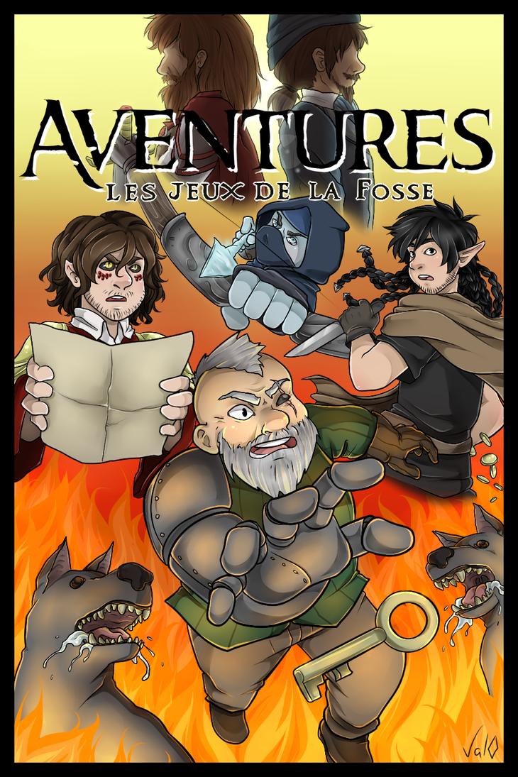 Aventures ~ Les Jeux de la Fosse by Val-07