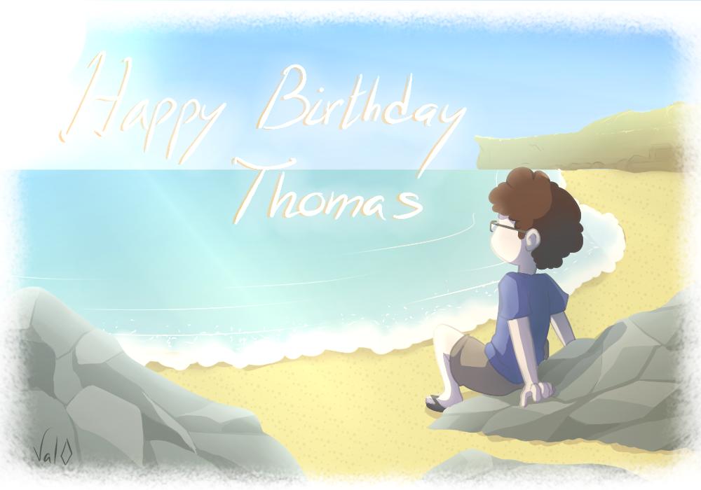 Joyeux Anniversaire Thomas ! by Val-07