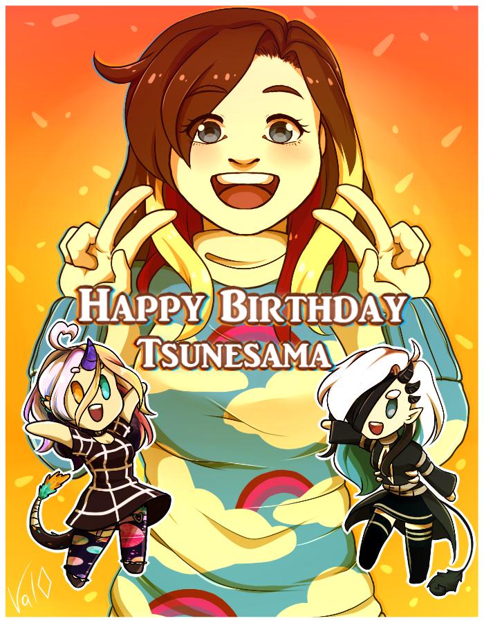 Happy Birthday Tsunesama ! by Val-07
