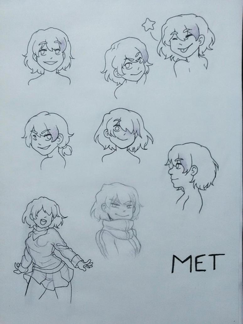 Ref Sheet - MET redesign by Val-07