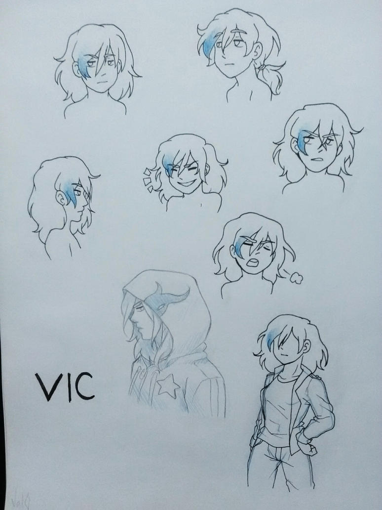 Ref Sheet - VIC redesign by Val-07