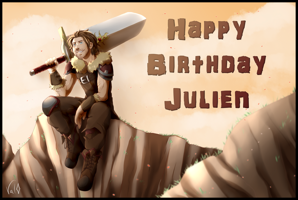 Happy Birthday Julien ~! by Val-07