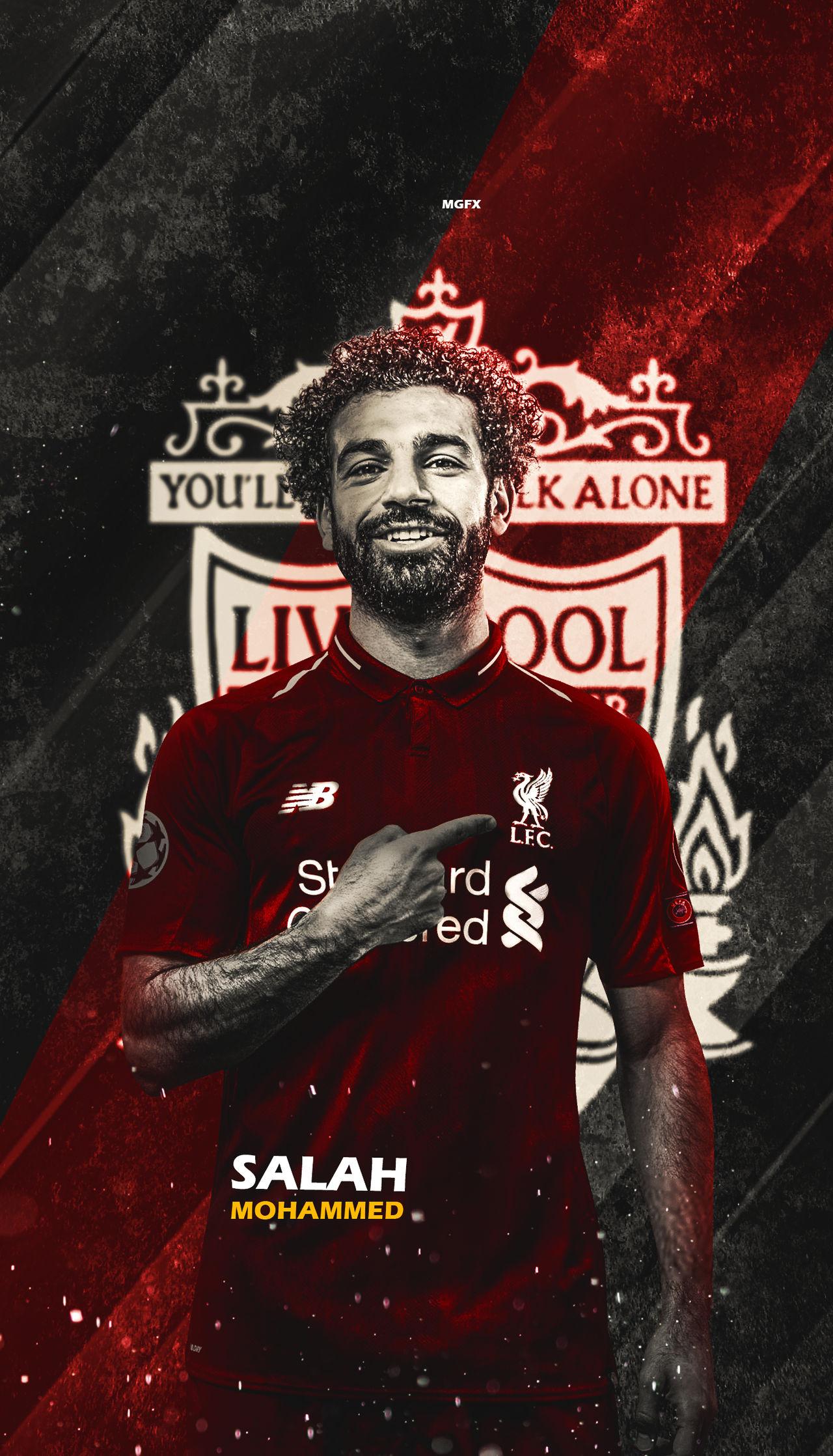 Mohamed Salah Wallpaper Lockscreen By Mohamedgfx10 On Deviantart