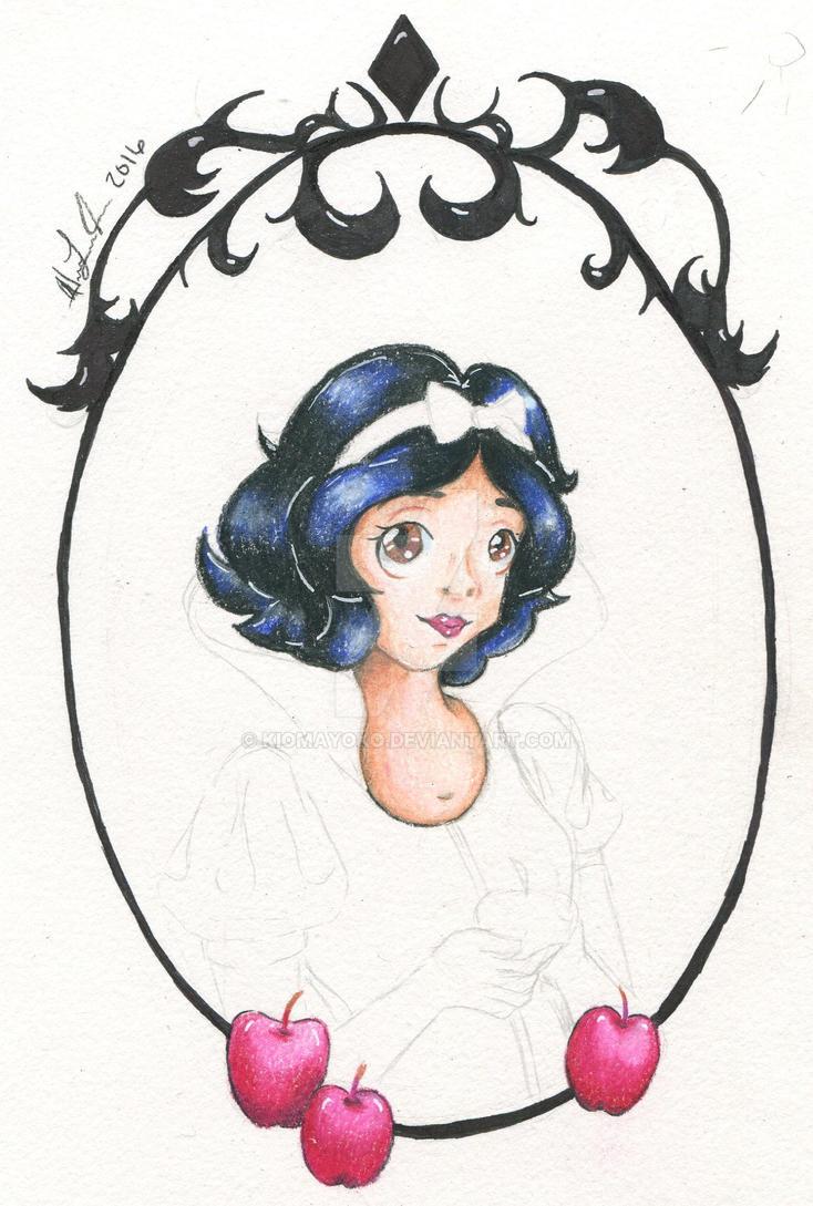 ::W.I.P:: Snow White by kiomayoko