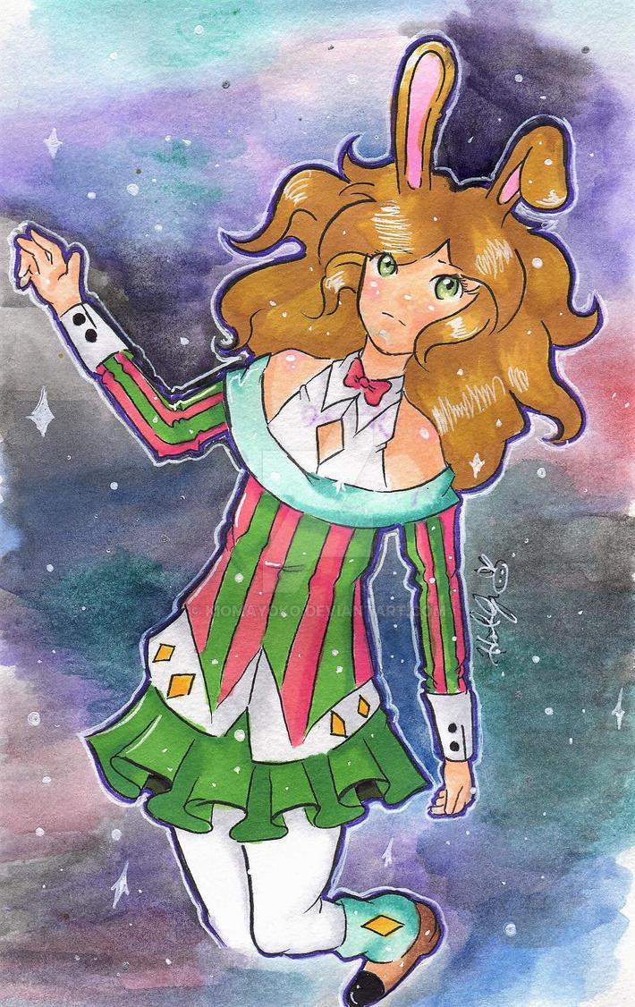 Galaxy Bunny by kiomayoko
