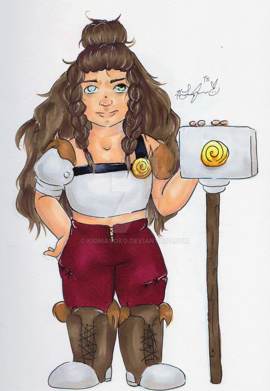 Dnd :: Jetta Blackthorn by kiomayoko