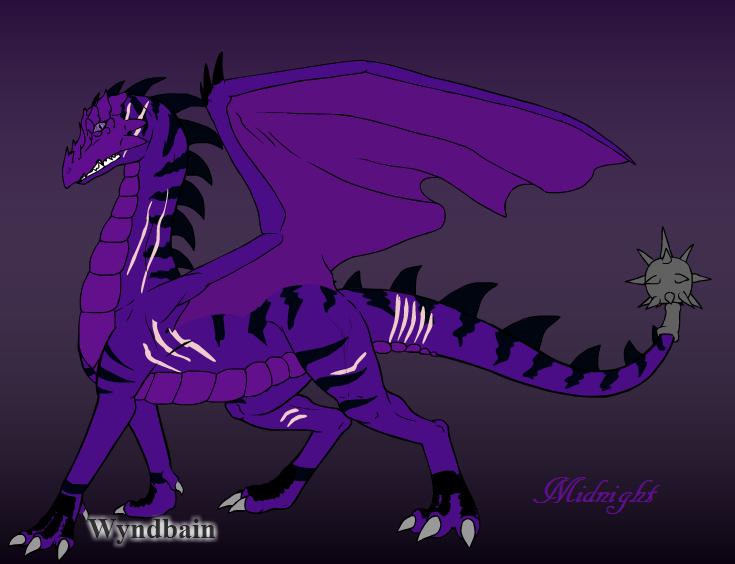 Enderlox's Dragon by babybunny80