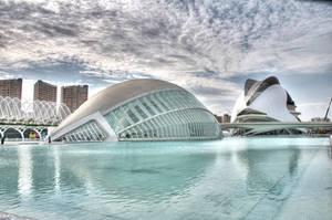 Ciutat de les Arts II by Aloba