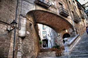 Escales i arc de Sant Marti