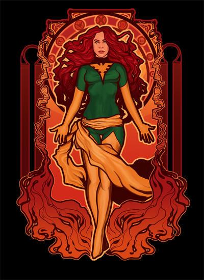 Phoenix Nouveau by MeganLara