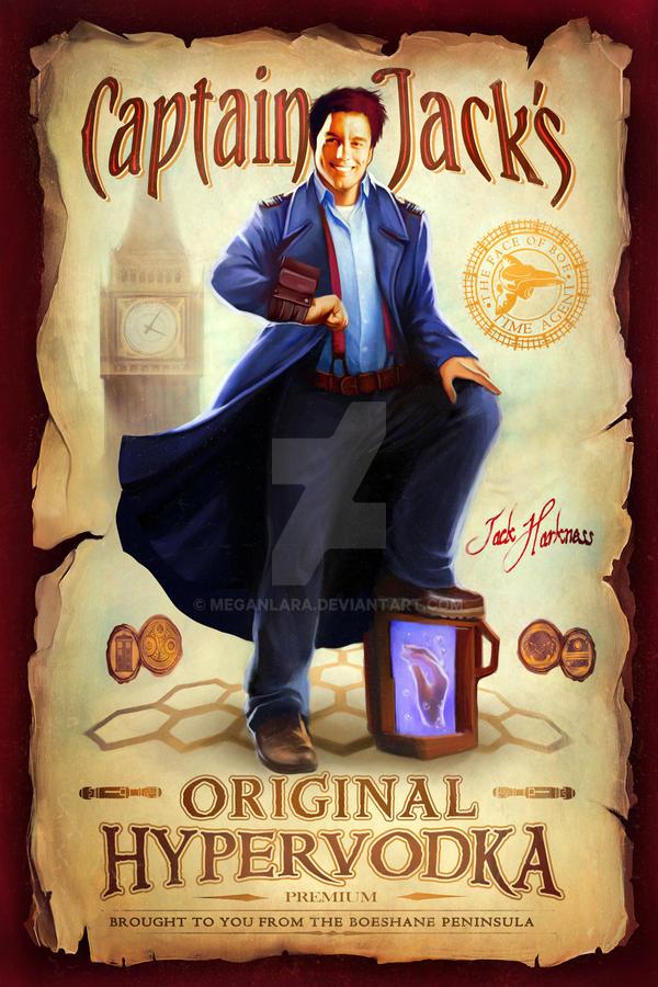 Captain Jack's Original Hypervodka - on Teefury! by MeganLara