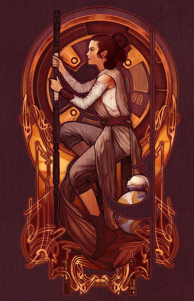 The Girl From Jakku by MeganLara
