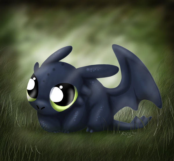 Toothless Wallpaper: Chibi Toothless The Dragon By A113Panda On DeviantArt