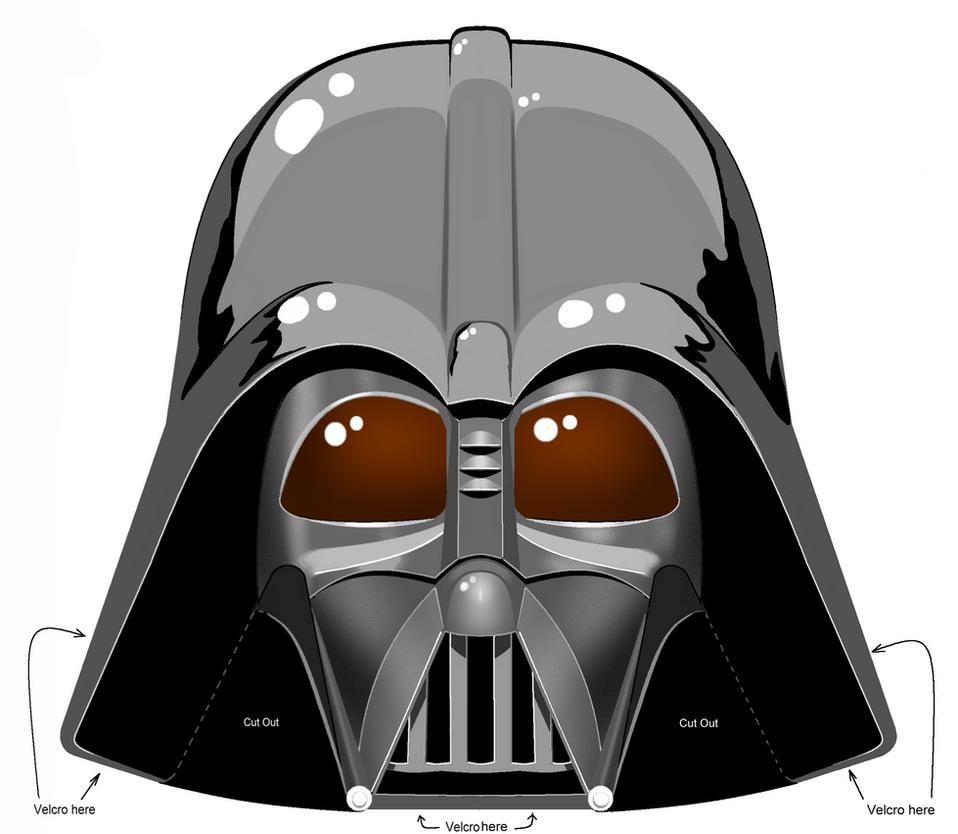 Darth Vader Mask Drawing Darth Vader Helmet Dif...