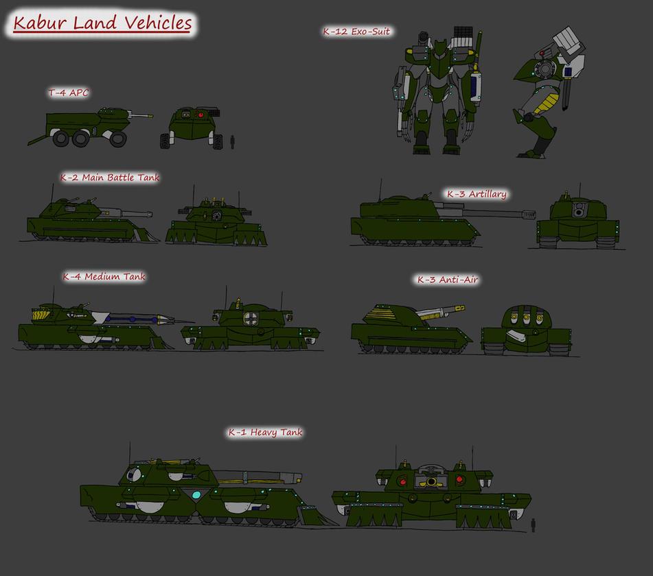 Re Kabur Land Vehicles by 0verlordofyou