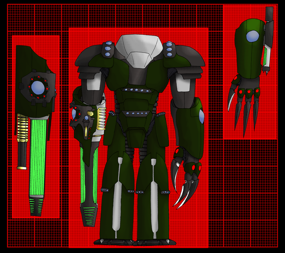 Cyborg Soldier Level 4 Titan by 0verlordofyou