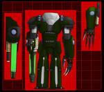 Cyborg Soldier Level 4 Titan