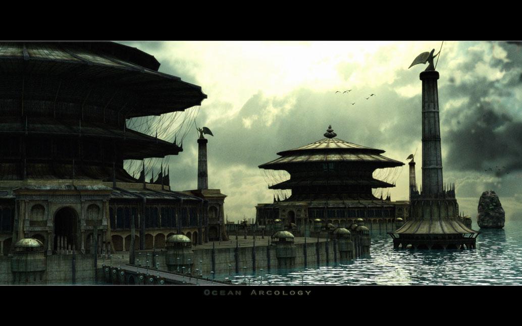 Ocean Arcology by GeneralPeer