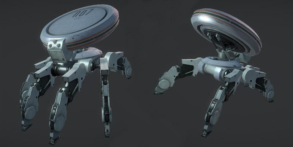 Robot Design in marmoset by GeneralPeer